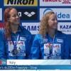 Italia argento mondiale nella staffetta: il video della 4×200 stile libero