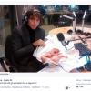 Giuseppe Cruciani pubblica una foto di un coniglio morto.