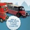 Piano opera modellini Autobus dal mondo