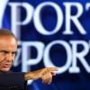 Video lite Bruno Vespa e Renato Brunetta in diretta a Porta a Porta