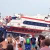 Stromboli: Aliscafo con 117 passeggeri si schianta contro il molo (video)