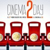Torna Cinema2Day: oggi al cinema con 2 euro