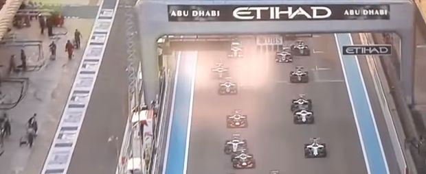 Abu Dhabi start