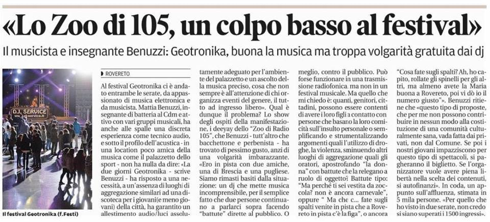 Articolo Rovereto Zoo