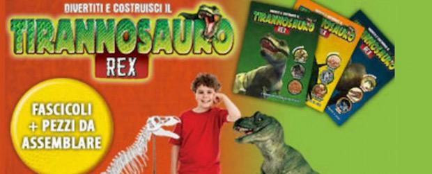 Divertiti e costruisci il Tirannosauro Rex
